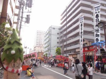 春日神社のお祭り